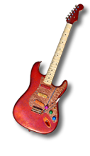 """Coppered Strat"""