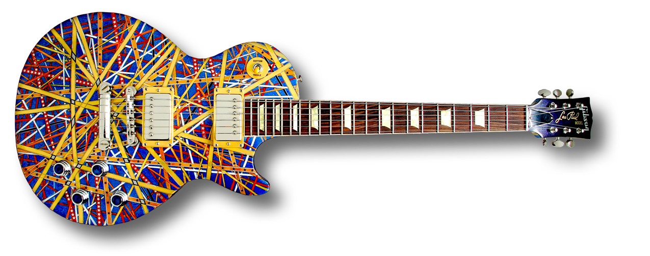 """Tangled Ribbon"" Gibson Les Paul"