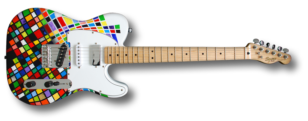 """The Harlequin"" Squier Telecaster"